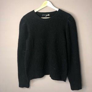 Love moschino black wool sweater size small